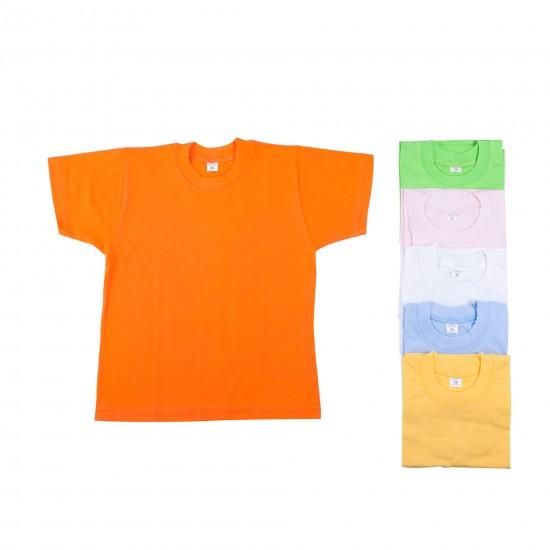 Едноцветни детски тениски на Златев БГ 98 - 152 см - Блузи и Ризи