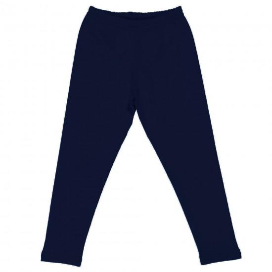 Фино ватиран дълъг клин 92 -164 см. тъмносин цвят - Панталони и Клинове